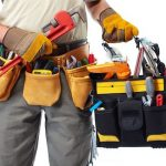 Des Moines Handyman with tool belt